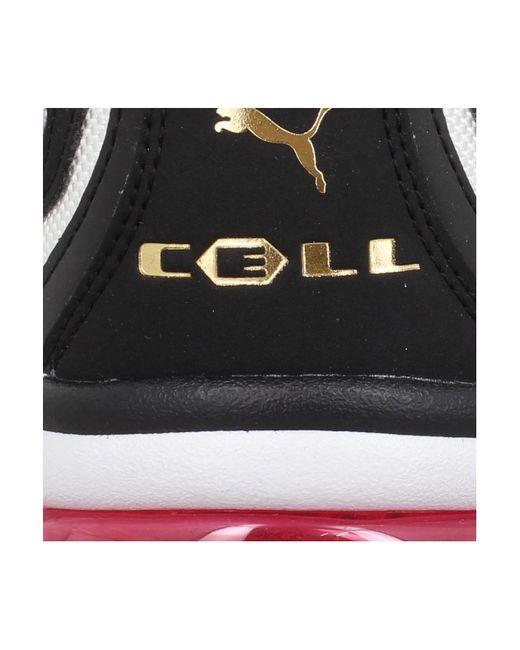 Cell Stellar toile Femme Blanc Noir femmes Chaussures en blanc ...