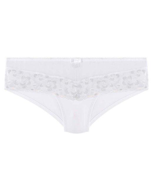 Shorty blanc/argent Décalcomanie Shorties & boxers Pommpoire en coloris White