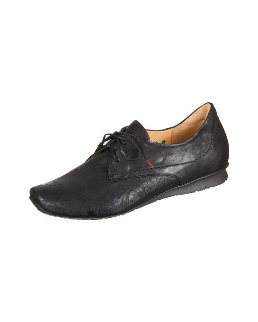 Think! - Chilli Laser Capra Rustico Women's Casual Shoes In Black - Lyst