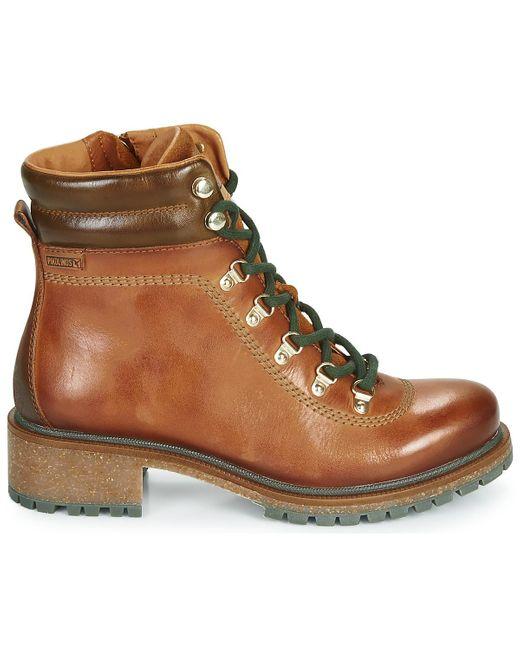 Pikolinos Laarzen Aspe W9z in het Brown