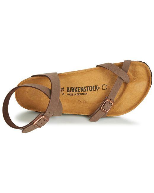 Birkenstock Sandalen Yara in het Brown