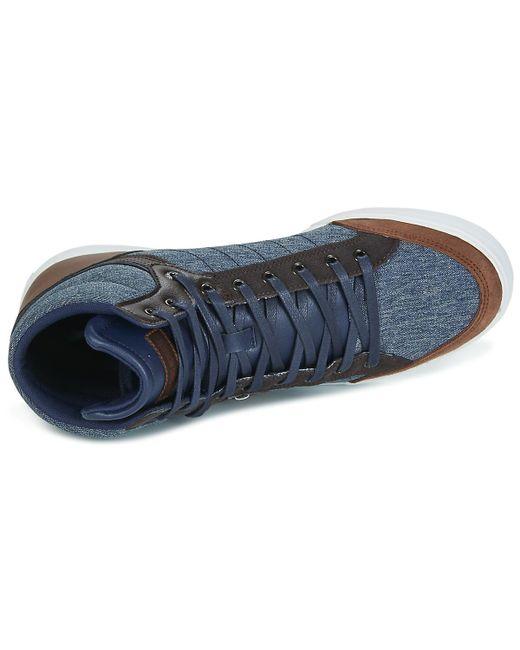 MONTFLEUR 2 TONES - Sneaker high - blue sGYmFjbXU