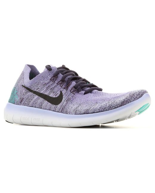 size 40 7bcb0 5b43b Wmns Free Rn Flyknit 2017 880844 501 Women's Running Trainers In Purple