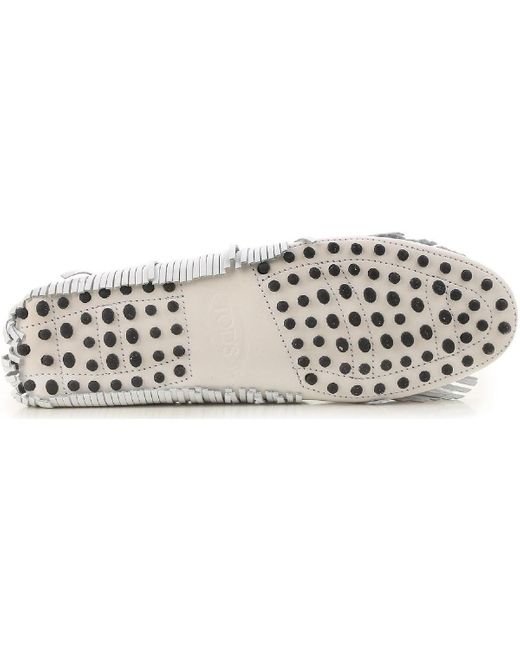 XXW00G0Y720CZMB001 Chaussures Tod's en coloris White