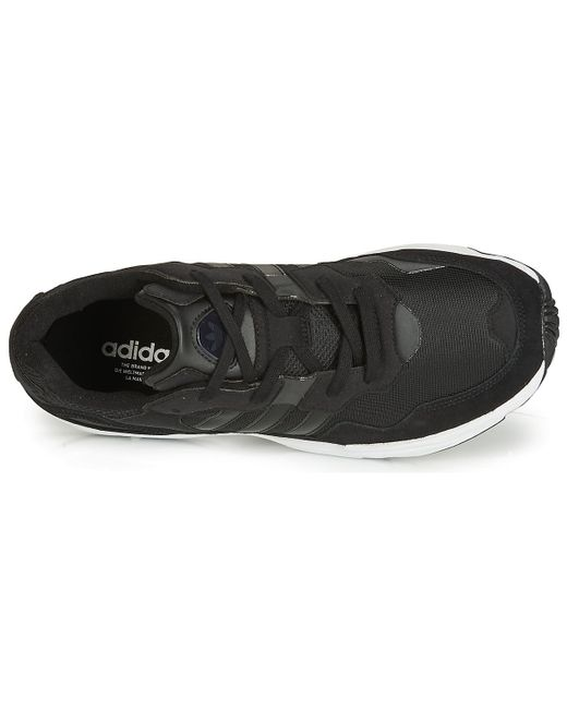 Adidas Lage Sneakers Falcon in het Black voor heren