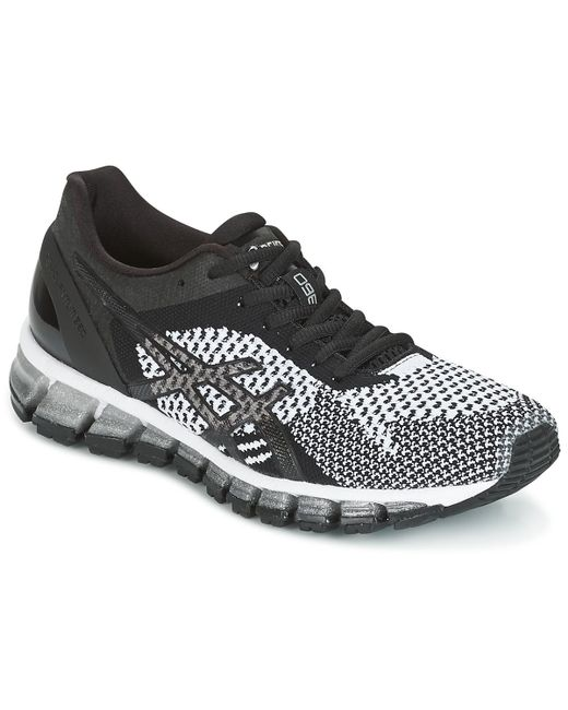 huge selection of 9e062 06e96 ... germany asics gel quantum 360 knit womens running trainers in black  882a0 98b39