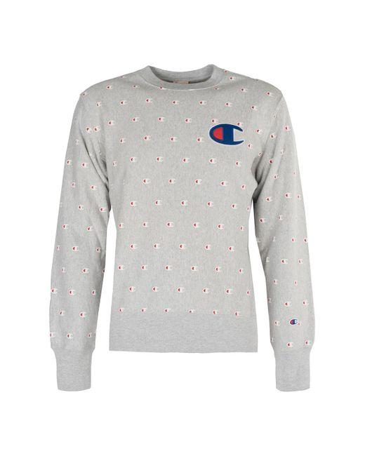 Champion Sweater in het Gray voor heren