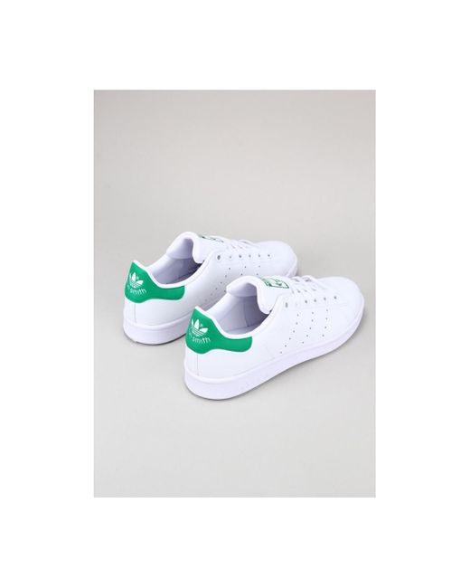 Adidas Lage Sneakers Stan Smith J in het White