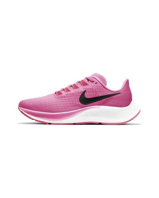 Chaussures Air Zoom Pegasus 37 Nike en coloris Rose - Lyst