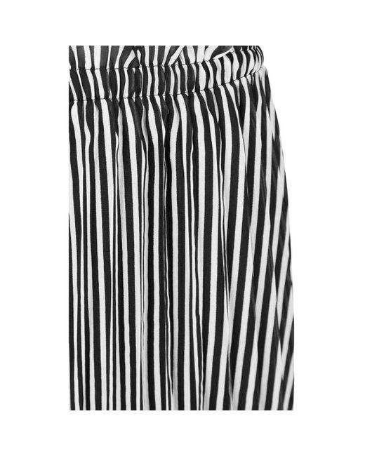 OnlfPAIGE LIFE ABOVE CALF SKIRT Jupes ONLY en coloris Black
