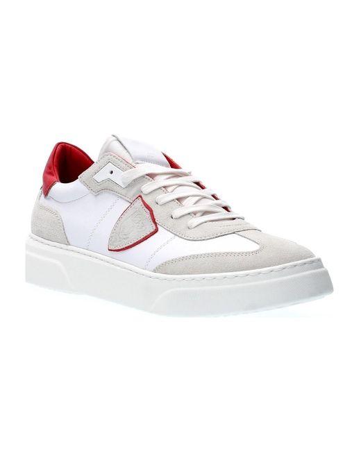 BDLU VX03 TEMPLE S Chaussures Philippe Model pour homme en coloris White