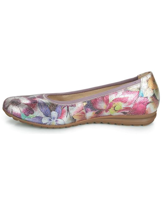Malteo Women's Shoes (pumps Ballerinas) In Purple