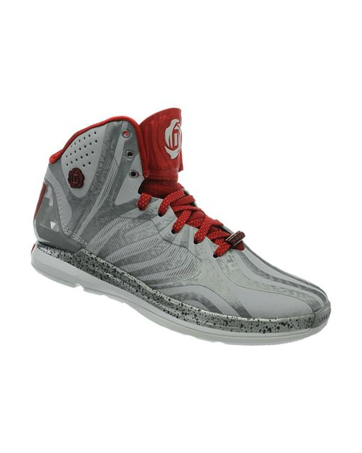 Adidas | Gray D Rose 45 Men's Basketball Trainers (shoes) In Grey for Men | Lyst