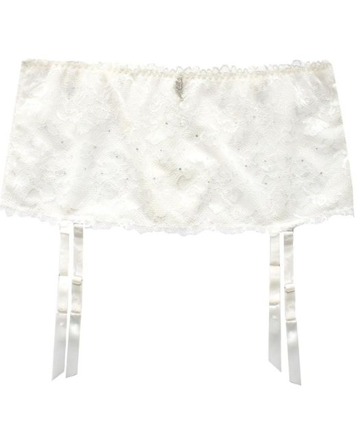 Serre-Taille Paola de Porte-jarretelles Lascana en coloris White