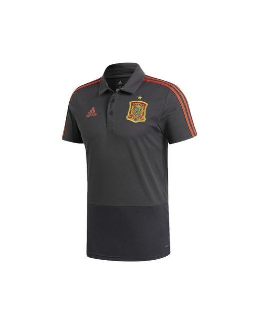 Adidas - Gray 2018-2019 Spain Training Polo Shirt (solid) Women s Polo Shirt  ... e304939de