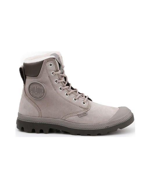 Hoge Sneakers Pampa Sport Cuff Palladium pour homme en coloris Gray