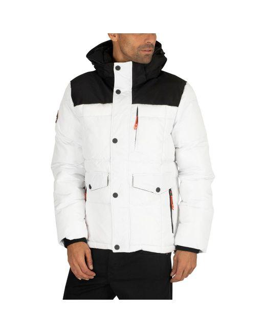 Superdry White Explorer Jacket Jacket for men
