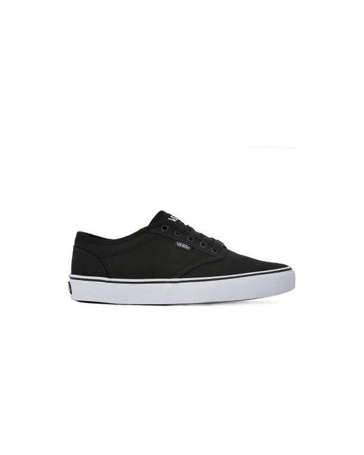187 ATWOOD CANVAS Chaussures Vans pour homme en coloris Noir - Lyst