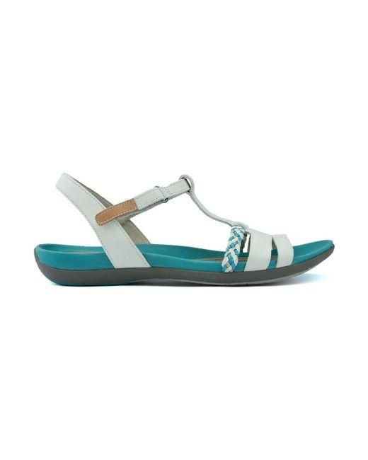 ebbe8403d6b ... Clarks - Natural Sandals Unstructured Tealite 21951 Women s Sandals In  Beige - Lyst