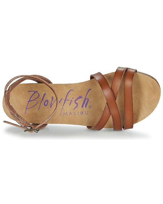 73853f0d4 Blowfish Malibu Galie Sandals in Brown - Save 2% - Lyst