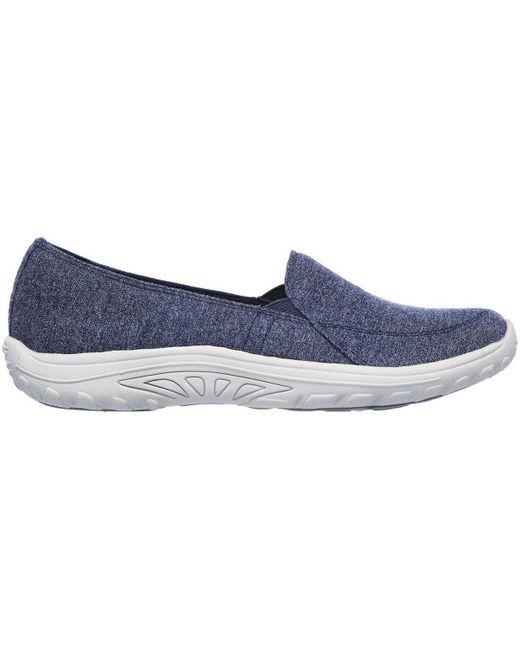 158031_NVY No Aplica Skechers de color Blue