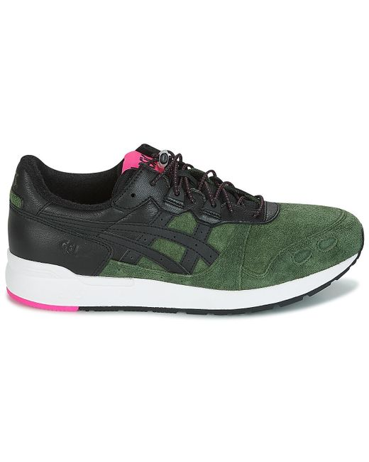 Asics Lage Sneakers Gel-lyte in het Black voor heren