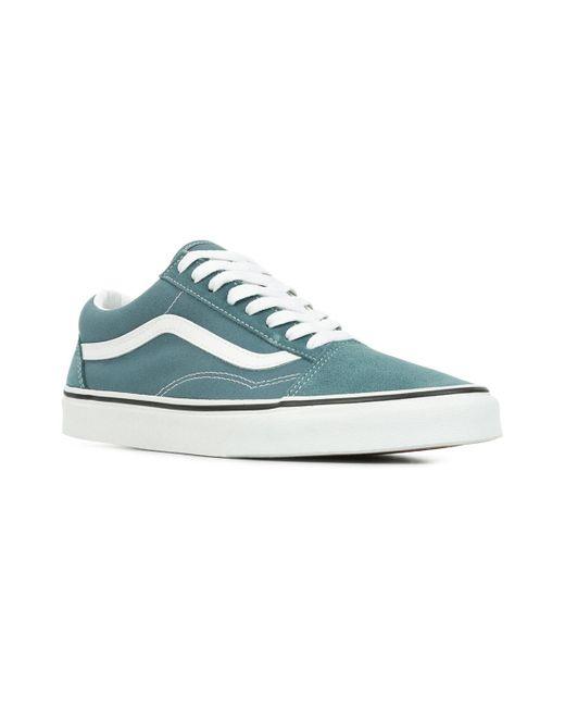 Old Skool Chaussures Vans pour homme en coloris Bleu - Lyst