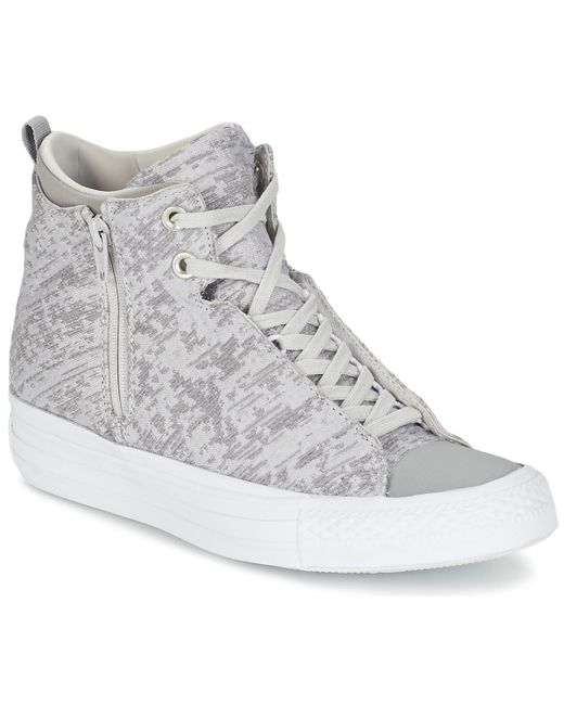 Converse - Gray Chuck Taylor All Star Selene Women's Shoes (high-top Trainers) In Grey - Lyst