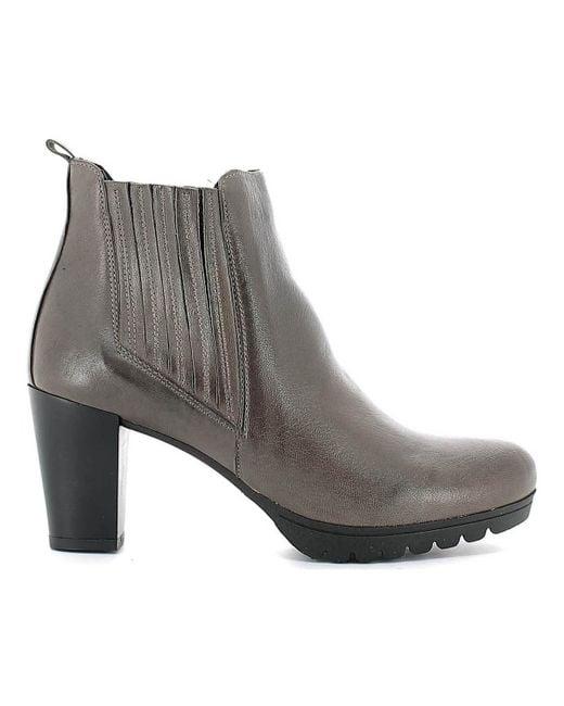 Keys - 1141 Ankle Boots Women Dark Brown Women's Mid Boots In Brown - Lyst