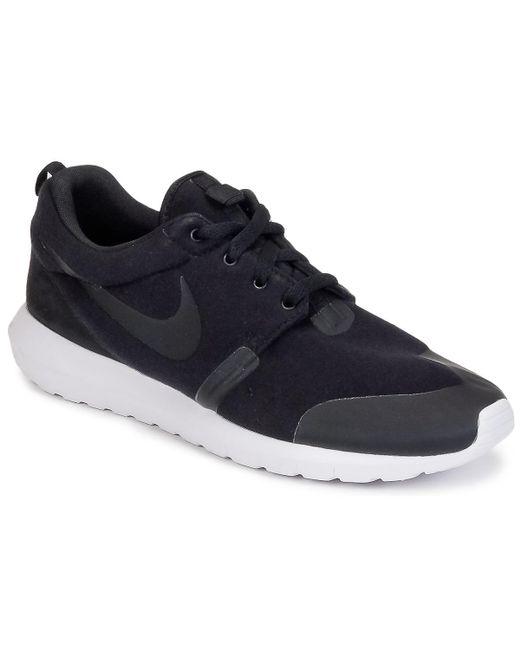 Nike | Roshe Run Men's Shoes (trainers) In Black for Men | Lyst