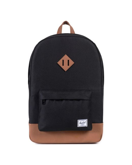 3d3b4ac0257 Herschel Supply Co. Heritage Backpack in Black for Men - Save 59% - Lyst