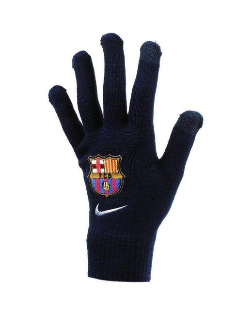 Barca gants maille hommes Gants en Noir Nike pour homme en coloris Black