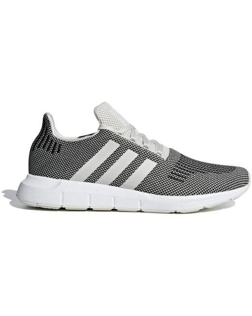 Swift Run Chaussures adidas pour homme en coloris Gris - Lyst