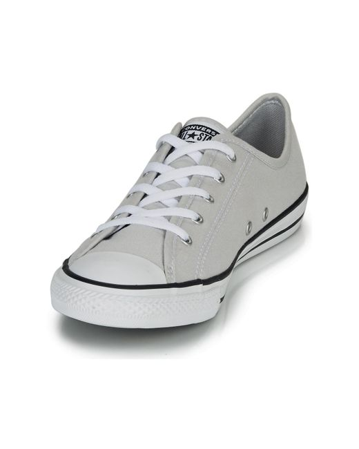 Converse Chuck Taylor All Star Dainty Gs Canvas Ox Trainers