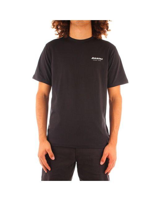 Dickies T-shirt Korte Mouw Dk0a4xkiblk1 in het Black voor heren