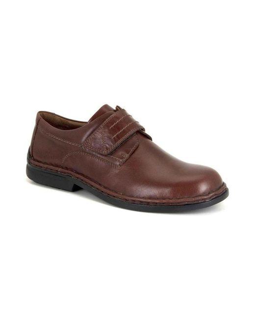 Josef Seibel | Vigo Mens Riptape Fastening Casual Shoes Men's Mid Boots In Brown for Men | Lyst