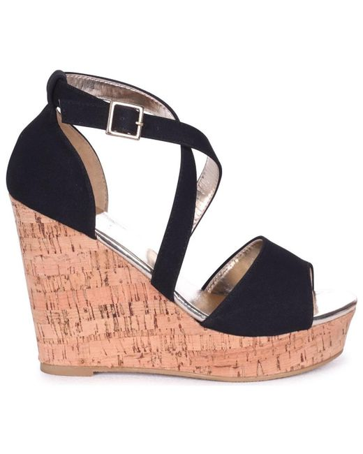 Linzi - Demi Women's Sandals In Black - Lyst