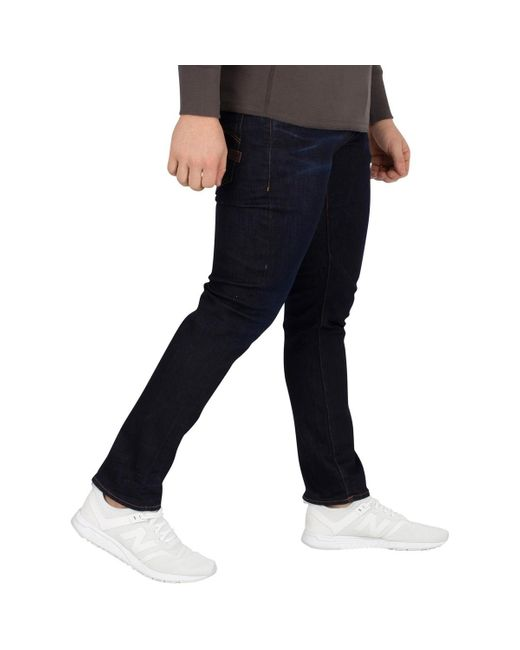 G-Star RAW D-Staq Jean slim 5 poches Jeans homme de coloris bleu