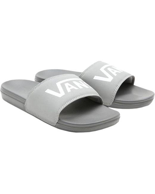 Sandale La Costa Slide-On Claquettes Vans en coloris Gris - Lyst