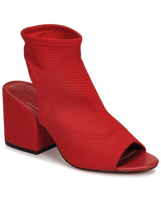 Katy Perry Enkellaarzen The Johanna in het Red