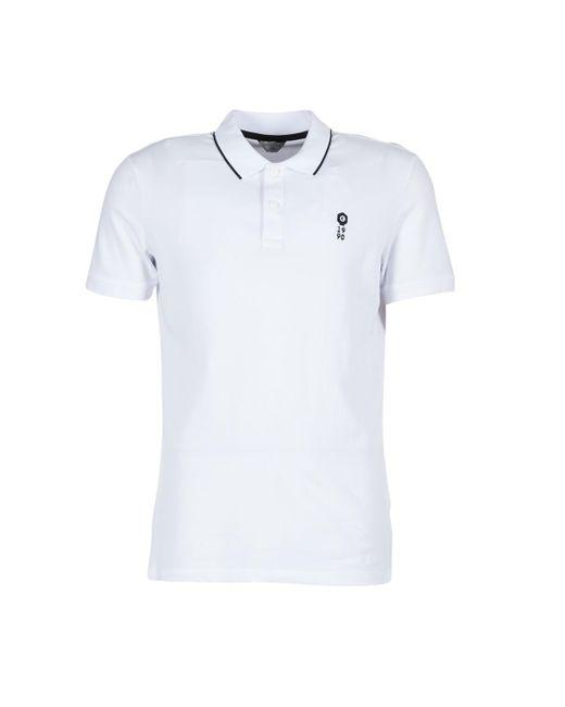 Jack & Jones | Stone Core Men's Polo Shirt In White for Men | Lyst