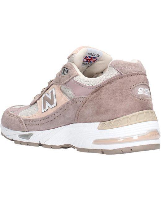 W991lgs beige/rosa W991LGS Chaussures New Balance - Lyst