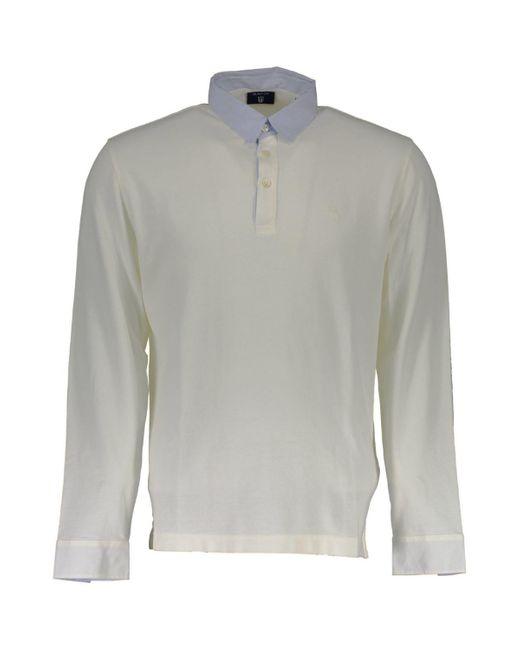 1601.245111 Polo Gant pour homme en coloris White