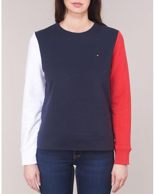 CLAIRE SWEATSHIRT CNK femmes Sweat shirt en bleu Tommy