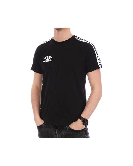 Camisetas Umbro de hombre de color Black