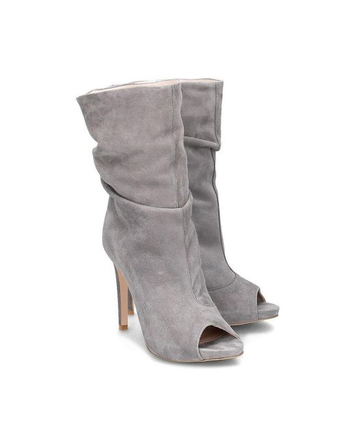 ab516e4422 Gino Rossi Gina Women's Low Boots In Grey in Gray - Save 38% - Lyst