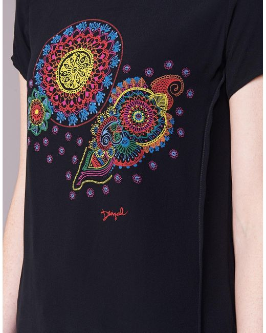 Desigual Naikle Women's T Shirt In Black
