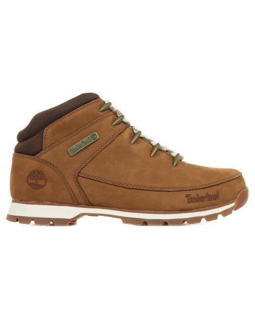 Boots Euro Sprint Hiker Timberland pour homme en coloris Brown
