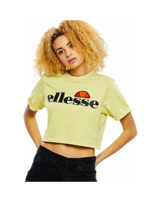 0ddf7ad2 Camiseta Alberta Top, Mujer Women's T Shirt In Yellow
