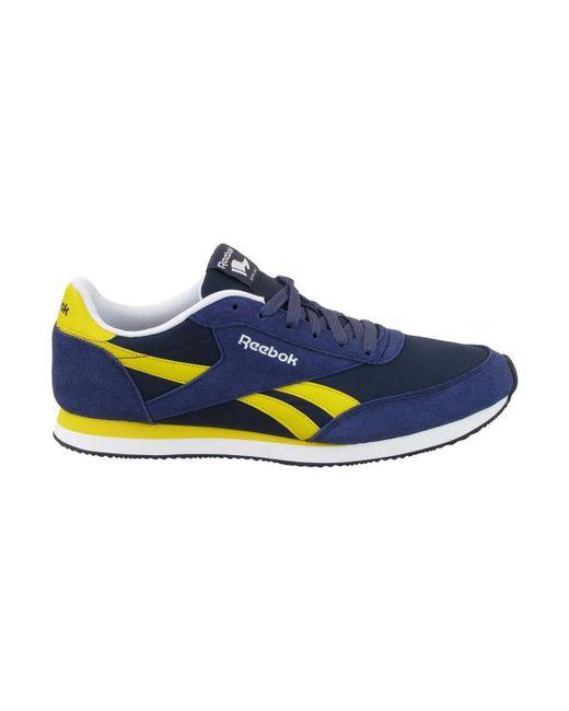 7e77ba6ea7f ... Reebok - Blue Royal Cl Jogger 2 Men s Shoes (trainers) In Multicolour  for Men ...